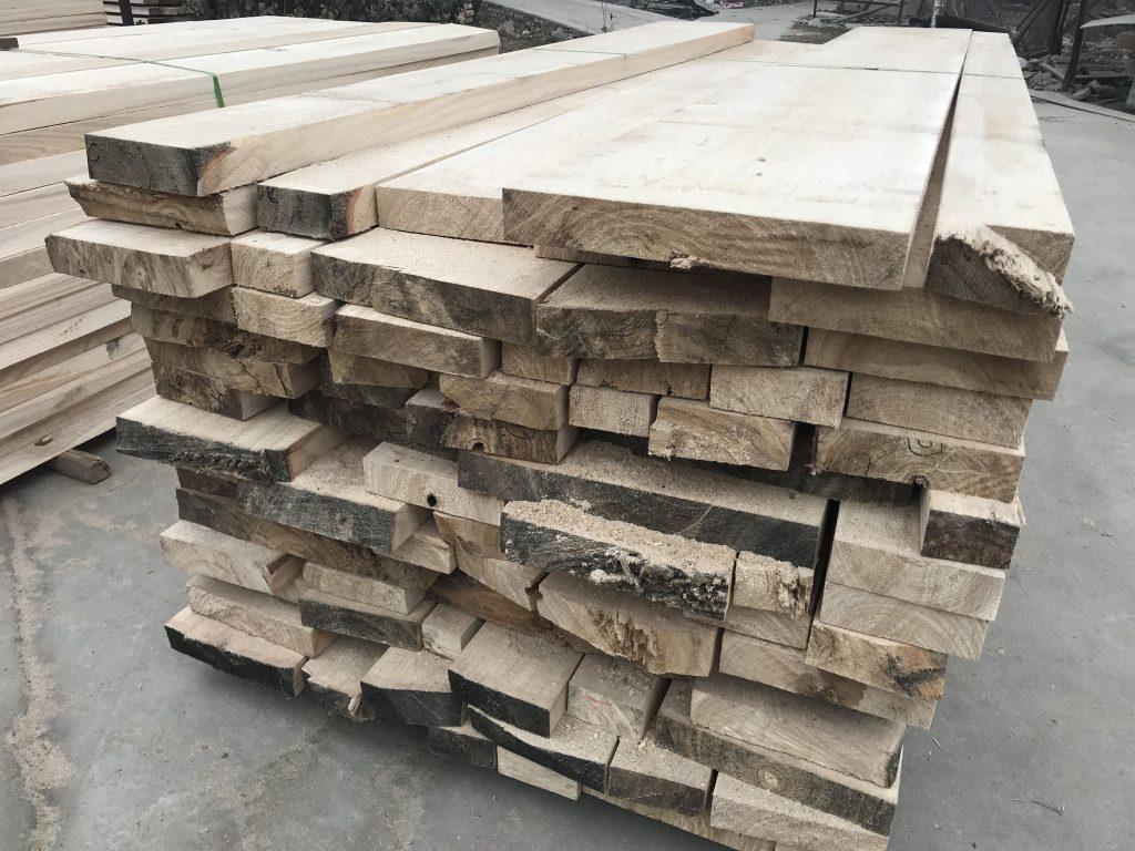 tablones de madera de paulownia / madera en bruto