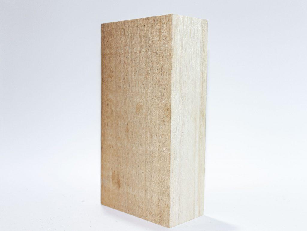 Tablón de madera de pawlonia