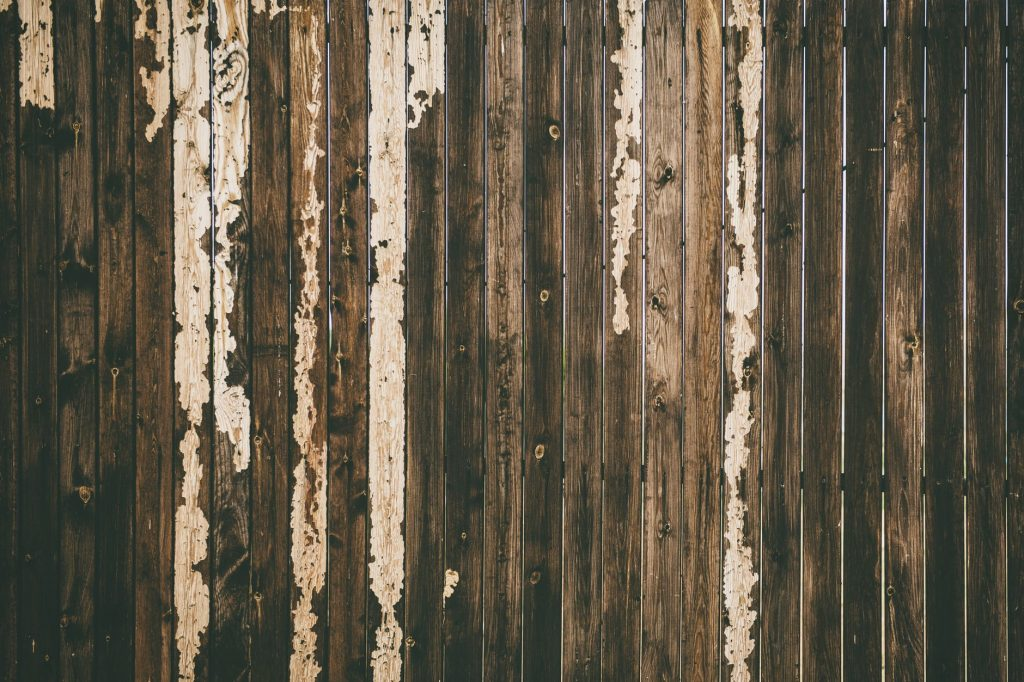 valla descolorida lignina