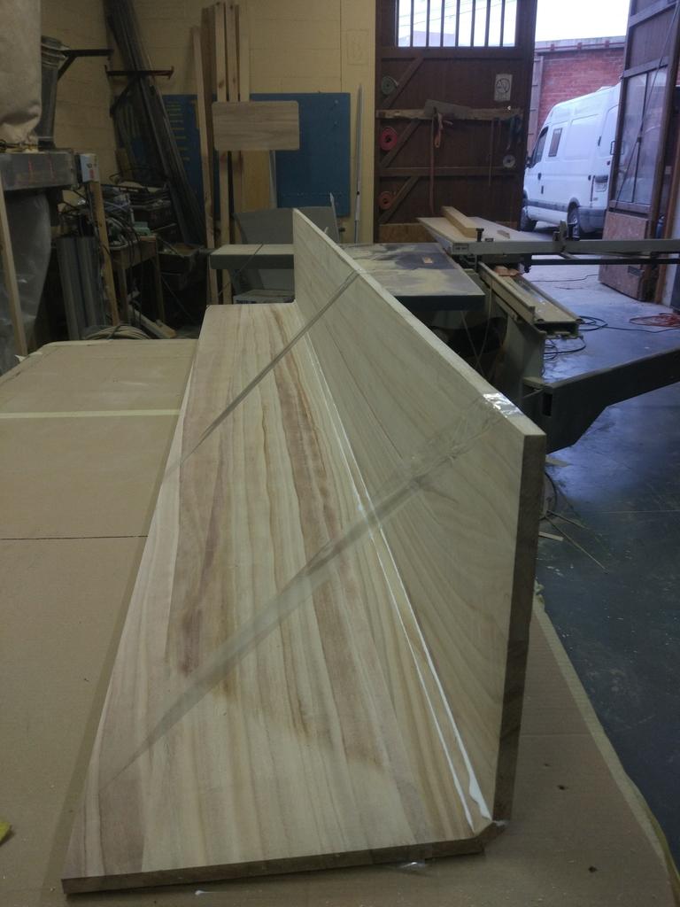 Proceso de fabricación del arcón