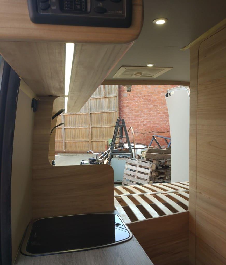 furgoneta camper paulownia