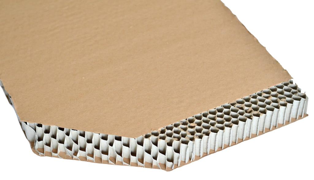 tablero panel de abeja honeycomb cardboard
