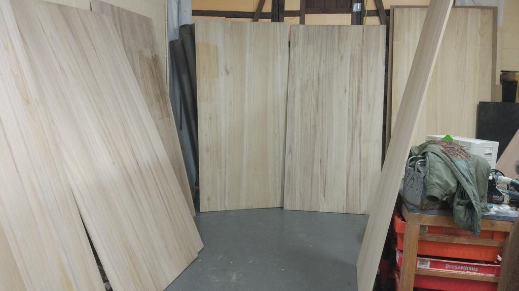 tableros madera de paulonia