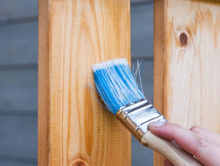 Pintar un mueble con acabado profesional