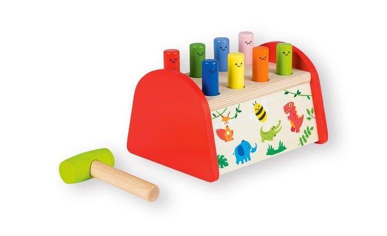 juego infantil de madera