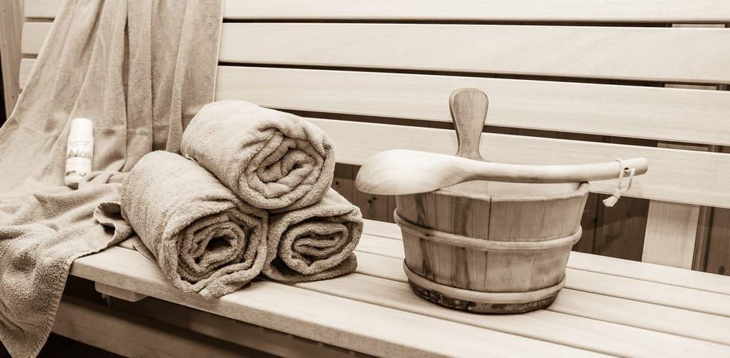 Madera para sauna