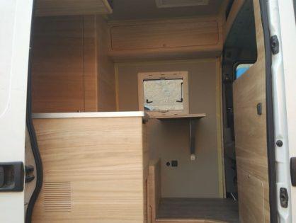 Convert a van to camper    (Step By Step)