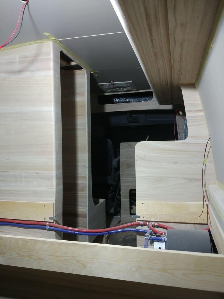 led lights installation process