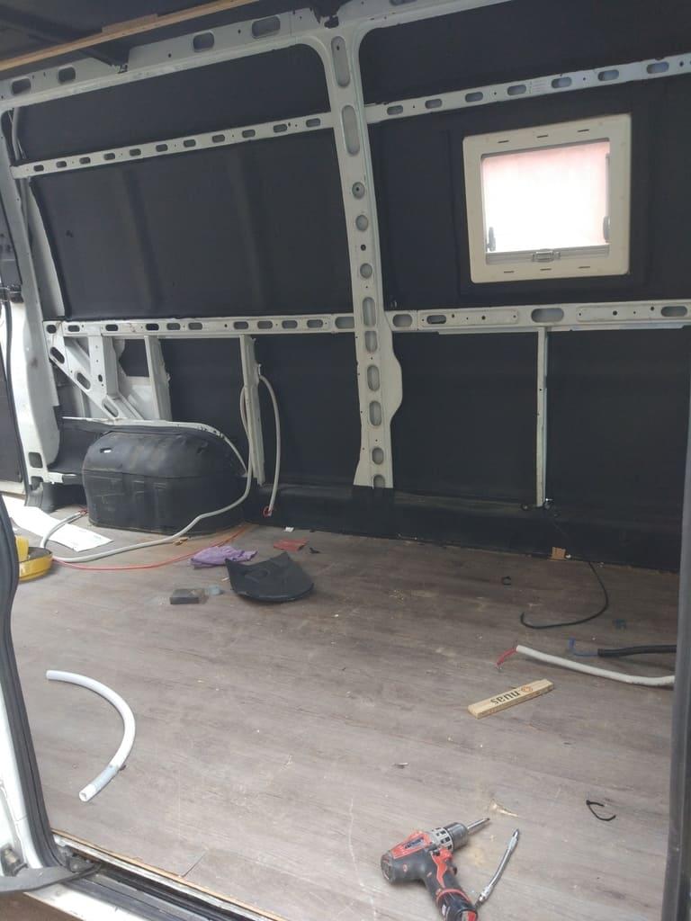 camper van empty