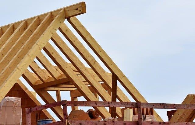 estructura de madera maciza