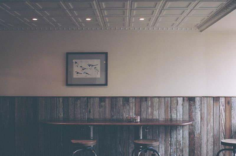 pared con leño