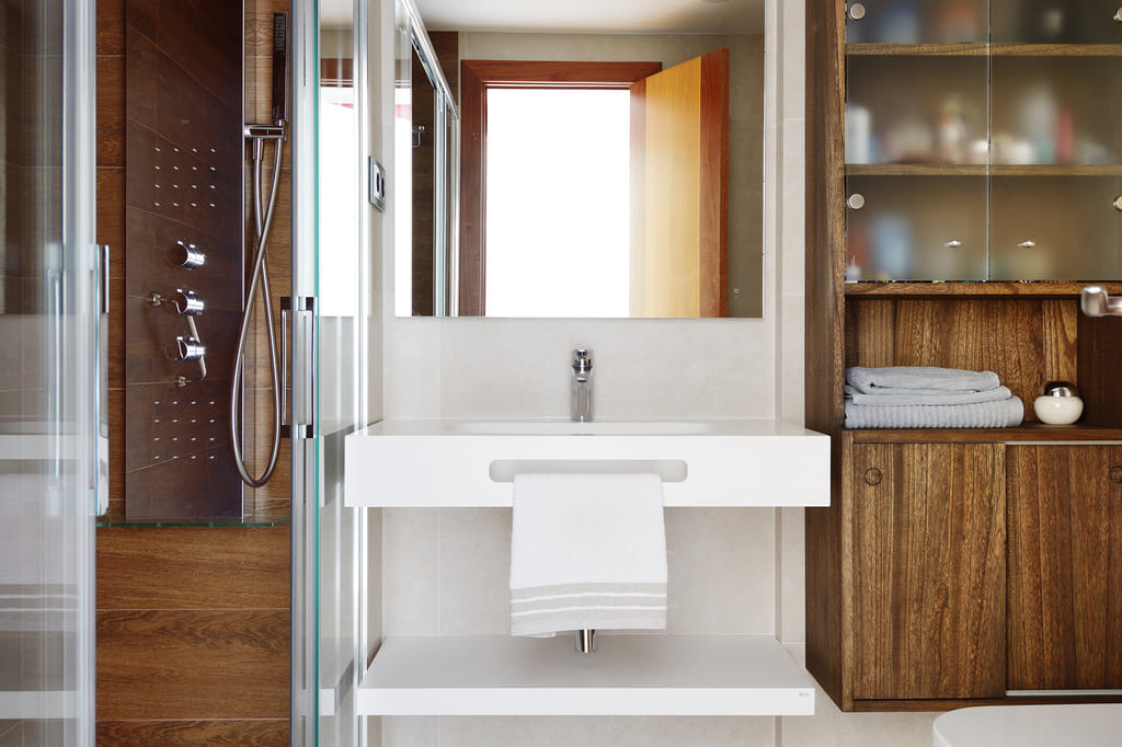 Baño foto cedida por Biofusteria