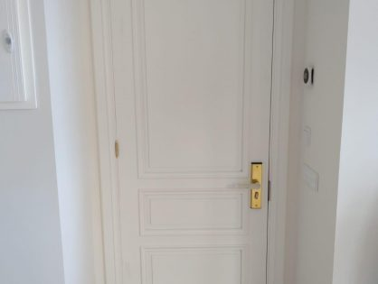 Como hacer una puerta de madera