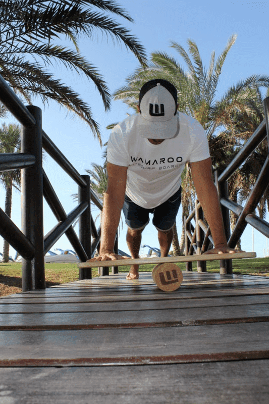 Flexiones tabla de equilibrio